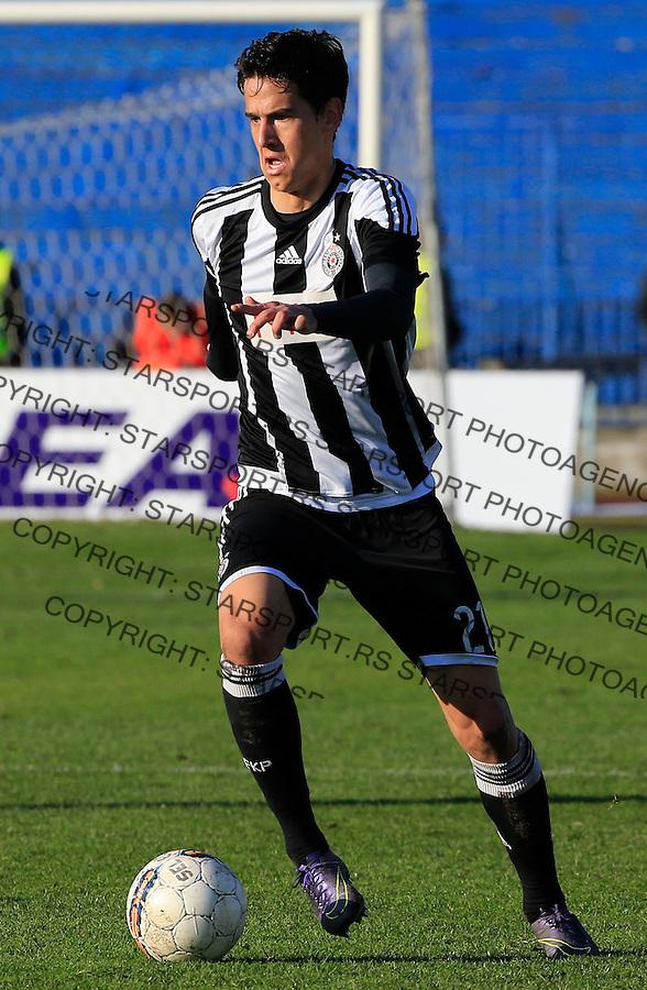 Fudbal Jelen Super League season 2015-2016<br /> Spartak v Partizan<br /> Marko Jevtovic<br /> Subotica, 29.11.2015.<br /> foto: Srdjan Stevanovic/Starsportphoto&copy;