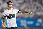 Thiago of Bayern Munich reacts during the Bayern Munich vs Guangzhou Evergrande as part of the Bayern Munich Asian Tour 2015  at the Tianhe Sport Centre on 23 July 2015 in Guangzhou, China. Photo by Aitor Alcalde / Power Sport Images