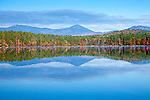The Sandwich Range over White Lake, White Lake State Park, Tamworth, NH, USA