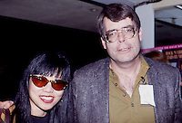 Stephen King & Amy Tan by Jonathan Green