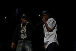 T.I. and Dej Loaf Perform onstage during Power 105.1's Powerhouse 2014 at Barclays Center, Brooklyn, NY