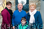Claire Keane Sings Christmas: Attending the Claire Keane Sings Christmas at St. John's Art's Centre, Listowel on Friday night last were Eileen & Jim Fennell, Mary Ahern & Shay Fennell.