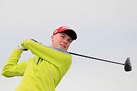 Liam Power (Galway) on the 2nd tee during Round 1 of The East of Ireland Amateur Open Championship in Co. Louth Golf Club, Baltray on Saturday 1st June 2019.<br /> <br /> Picture:  Thos Caffrey / www.golffile.ie<br /> <br /> All photos usage must carry mandatory copyright credit (© Golffile | Thos Caffrey)