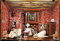 Nederland Amsterdam  2016 03 13.  Het Rijksmuseum. Eén van de kamers van een poppenhuis. Foto Berlinda van Dam / Hollandse Hoogte