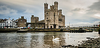 2019 11 02 Caernarfon in north Wales, UK