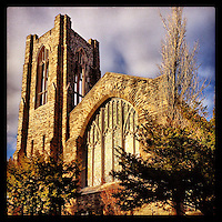 Summit Presbyterian Church in Mt. Airy basks in the afternoon sunlight on March 3, 2013.