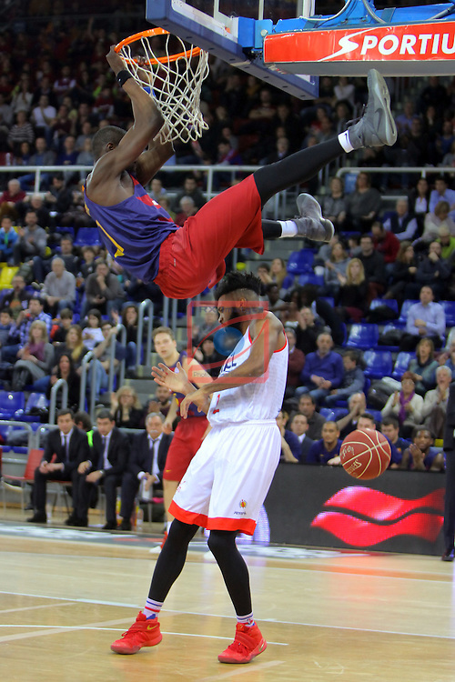 League ACB-ENDESA 2016/2017 - Game: 21.<br /> FC Barcelona Lassa vs ICL Manresa: 92-72.<br /> Moussa Diagne.