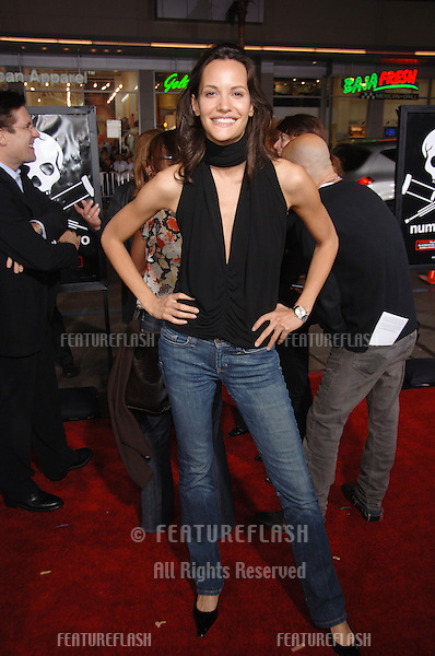 "Actress CLAUDIA MASON at the world premiere of ""Jackass Number Two"" at the Grauman's Chinese Theatre, Hollywood..September 21, 2006  Los Angeles, CA.Picture: Paul Smith / Featureflash"
