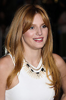 "WESTWOOD, CA, USA - FEBRUARY 24: Bella Thorne at the World Premiere Of Universal Pictures And Studiocanal's ""Non-Stop"" held at Regency Village Theatre on February 24, 2014 in Westwood, Los Angeles, California, United States. (Photo by Xavier Collin/Celebrity Monitor)"
