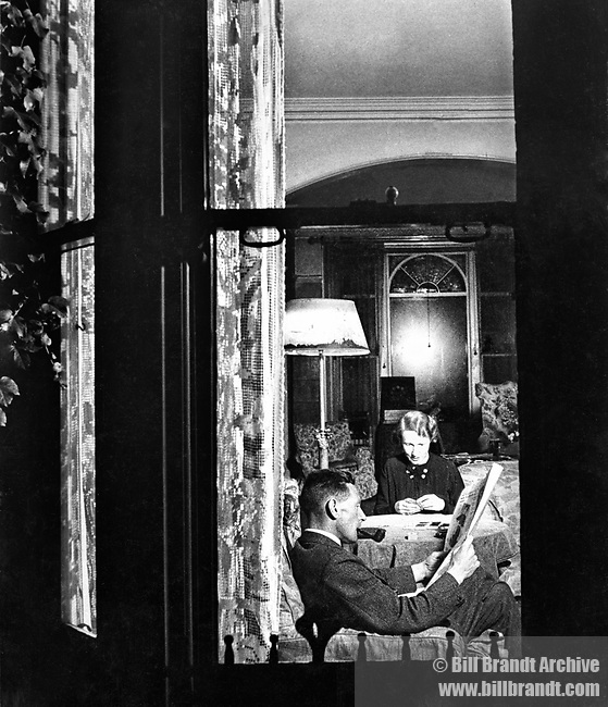 Suburban Living Room, 1930s