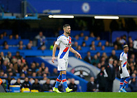 9th November 2019; Stamford Bridge, London, England; English Premier League Football, Chelsea versus Crystal Palace; Gary Cahill of Crystal Palace - Strictly Editorial Use Only. No use with unauthorized audio, video, data, fixture lists, club/league logos or 'live' services. Online in-match use limited to 120 images, no video emulation. No use in betting, games or single club/league/player publications