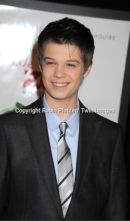 "actor Colin Ford attends The New York Screening of ""We Bought A Zoo"" on December 12, 2011 at The Ziegfeld Theatre in New York City. The movie stars Matt Damon, Scarlett Johansson, Thomas Haden Church, Patrick Fugit, Colin Ford, Elle Fanning and John Michael Higgins."
