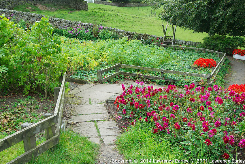 Day 3 - Hadrian's Wall path goes right through this private garden!