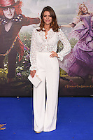 Chloe Lewis at the premiere of &quot;Alice Through the Looking Glass&quot; at the Odeon Leicester Square, London.<br /> May 10, 2016  London, UK<br /> Picture: Steve Vas / Featureflash