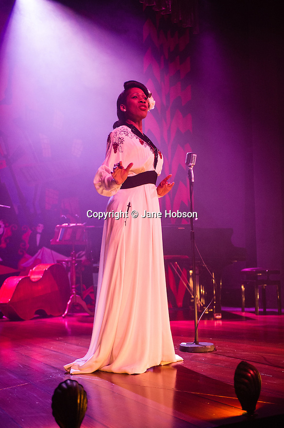Nina Kristofferson's BILLIE HOLIDAY STORY opens at the Charing Cross Theatre. Written by and starring Nina Kristofferson.