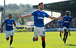25.08.2019 St Mirren v Rangers: Borna Barisic celebrates his goal