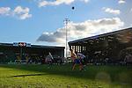 Notts County 0 Mansfield Town 0, 14/01/2017. Meadow Lane, League Two. Notts County clear a Mansfield attack. Photo by Paul Thompson.