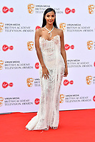 Maya Jama<br /> at Virgin Media British Academy Television Awards 2019 annual awards ceremony to celebrate the best of British TV, at Royal Festival Hall, London, England on May 12, 2019.<br /> CAP/JOR<br /> &copy;JOR/Capital Pictures