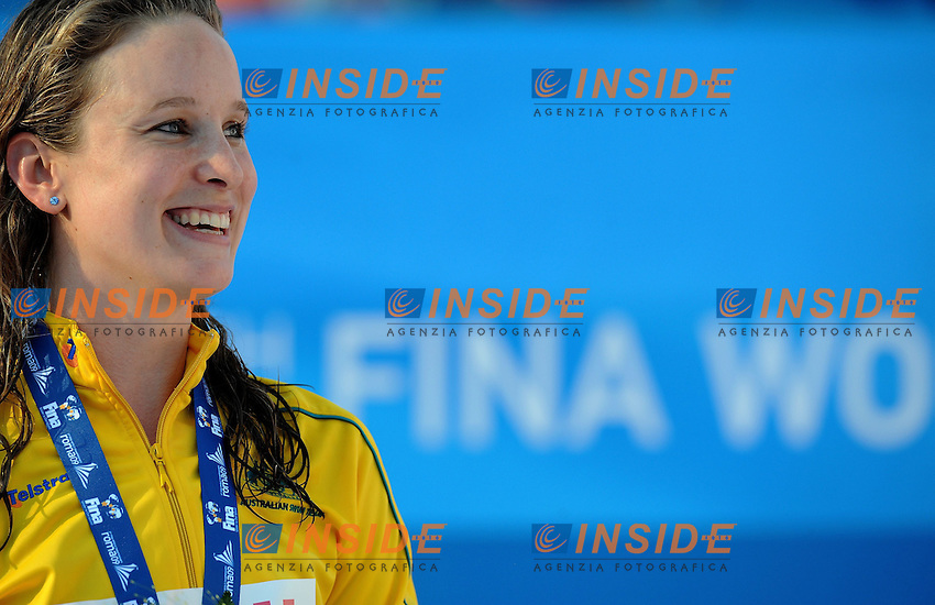 Roma 1st August 2009 - 13th Fina World Championships From 17th to 2nd August 2009....Swimming finals..Women's 50m butterfly..Marieke Guherer (AUS) gold medal....photo: Roma2009.com/InsideFoto/SeaSee.com