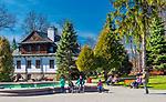 Park Zdrojowy, Wysowa-Zdrój, Polska<br /> Wysowa-Zdrój, Poland