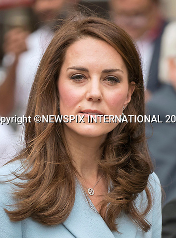 No UK Use For 28 Days - Until 7th June 2017<br /> <br /> 11.05.2017; Luxembourg: DUCHESS OF CAMBRIDGE VISITS LUXEMBOURG<br /> visits a cycle themed festival in Place Clairefontaine.<br /> Kate was on a day visit to the Grand Duchy of Luxembourg to attend the official commemoration of the 1867 Treaty of London.<br /> Mandatory Photo Credit: &copy;Francis Dias/NEWSPIX INTERNATIONAL<br /> <br /> IMMEDIATE CONFIRMATION OF USAGE REQUIRED:<br /> Newspix International, 31 Chinnery Hill, Bishop's Stortford, ENGLAND CM23 3PS<br /> Tel:+441279 324672  ; Fax: +441279656877<br /> Mobile:  07775681153<br /> e-mail: info@newspixinternational.co.uk<br /> Usage Implies Acceptance of OUr Terms &amp; Conditions<br /> Please refer to usage terms. All Fees Payable To Newspix International