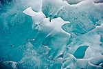Iceberg detail,  Tongass National Forest, Southeastern, Alaska, USA