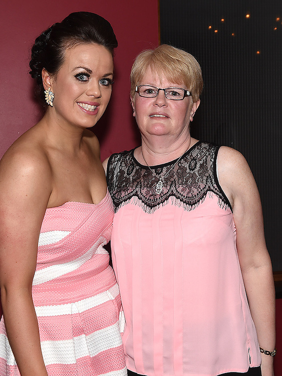 Aoife Duff celebrating her engagement in Brú with her mam Tina Duff. Photo:Colin Bell/pressphotos.ie