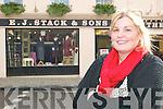 Jennifer Scanlon, proprietor of Coco Boutique on  William Street, Listowel.   Copyright Kerry's Eye 2008