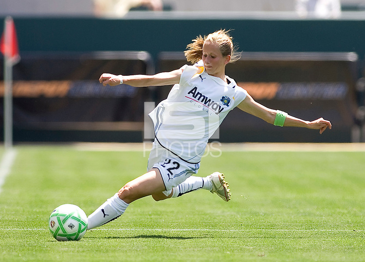 LA Sol's Manya Makoski. The LA Sol defeated FC Gold Pride of the Bay Area 1-0 at Home Depot Center stadium in Carson, California on Sunday April 19, 2009.  ..  .