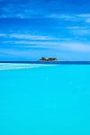Wadigi Island and resort as seen from Malolo Island (Tropica Island Resort previously Walu Beach Resort).