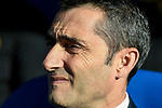 Coach Luis Ernesto Valverde Tejedor of FC Barcelona reacts prior to the La Liga 2017-18 match between CD Leganes vs FC Barcelona at Estadio Municipal Butarque on November 18 2017 in Leganes, Spain. Photo by Diego Gonzalez / Power Sport Images