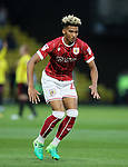 Bristol City's Lloyd Kelly in action during the Carabao cup match at Vicarage Road Stadium, Watford. Picture date 22nd August 2017. Picture credit should read: David Klein/Sportimage