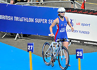 Photo: Paul Greenwood/Richard Lane Photography. Strathclyde Park Elite Triathlon. 17/05/2009.