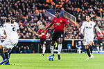 Paul Pogba of Manchester United (C) runs with the ball during the UEFA Champions League 2018-19 match between Valencia CF and Manchester United at Estadio de Mestalla on December 12 2018 in Valencia, Spain. Photo by Maria Jose Segovia Carmona / Power Sport Images