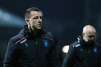Aston Villa Assistant Coach, John Terry, heads to the dressing room at the end of the match after losing to a stoppage time goal during Brentford vs Aston Villa, Sky Bet EFL Championship Football at Griffin Park on 13th February 2019