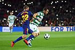 UEFA Champions League 2017/2018 - Matchday 6.<br /> FC Barcelona vs Sporting Clube de Portugal: 2-0.<br /> Aleix Vidal vs Bruno Cesar.