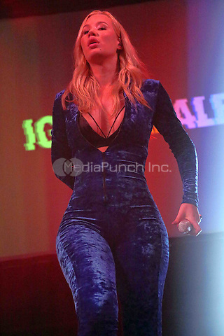"""CHESTER, PA - DECEMBER 3 :  ***EXCLUSIVE*** HOUSE COVERAGE***  Iggy Azalea performing at Mix 106.1 & Q102 present a star studded grand opening of the """"ALL NEW"""" Block at Harrah's Philadelphia in Chester, Pa on December 3, 2016   photo credit  Star Shooter/MediaPunch"""