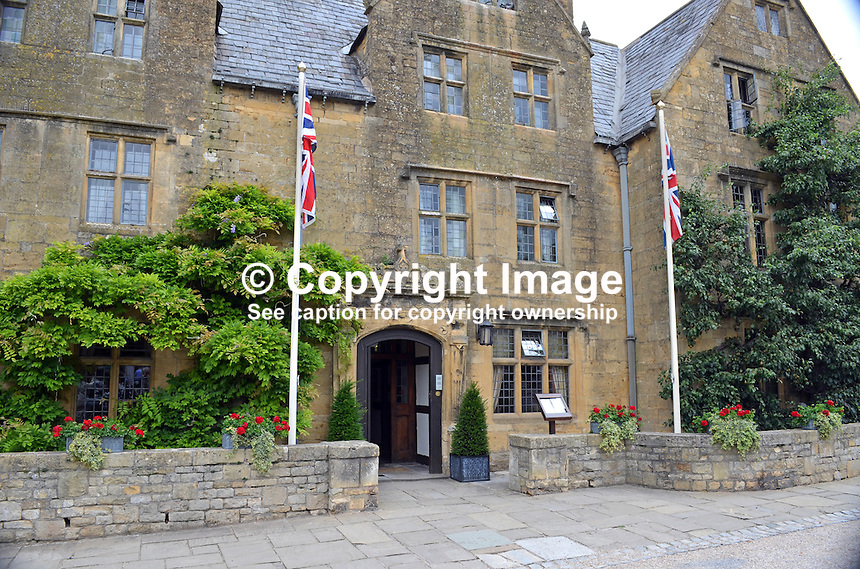 Lygon Arms, hotel, Broadway, Worcestershire, July, 2014, 201407113475<br />