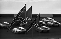 Confederate flag southern roots Atlanta Journal 500 at Atlanta International Raceway in Hampton , GA on November 19, 1989.  (Photo by Brian Cleary/www.bcpix.com)