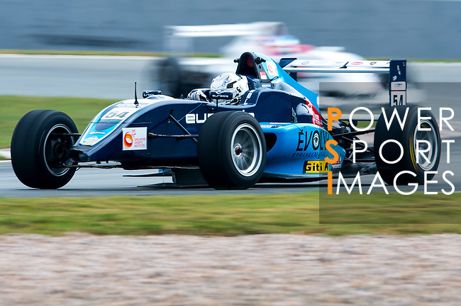 Sean Hudspeth of Singapore and Eurasia Motorsport drives during the Formula Masters China Series as part of the 2015 Pan Delta Super Racing Festival at Zhuhai International Circuit on September 20, 2015 in Zhuhai, China.  Photo by Aitor Alcalde/Power Sport Images