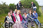 WHO WILL IT BE: Getting ready to be crowned Festival Queen this weekend are locals girls from Castlegregory..Front l-r were: Tara O'Mahony, Carol Walsh, Lissa Cahill, Katie Spillane Kaylee O'Connor, Jessica Hoare and Samatha Flynn. Back l-r were: Rebecca O'Donnell and Jacqui McCarthy.