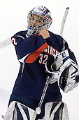 Jennie Bellonio (UConn - 32) - The University of Connecticut Huskies defeated the Northeastern University Huskies 4-1 in Hockey East quarterfinal play on Saturday, February 27, 2010, at Matthews Arena in Boston, Massachusetts.
