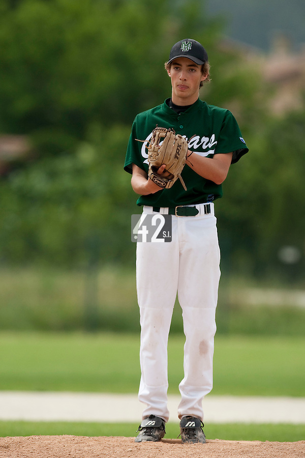 22 May 2009: Sebastien Neumann of Montigny pitches against La Guerche during the 2009 challenge de France, a tournament with the best French baseball teams - all eight elite league clubs - to determine a spot in the European Cup next year, at Montpellier, France.