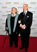 Barbara Cook and her son, Adam LeGrant,  arrive for the formal Artist's Dinner honoring the recipients of the 2011 Kennedy Center Honors hosted by United States Secretary of State Hillary Rodham Clinton at the U.S. Department of State in Washington, D.C. on Saturday, December 3, 2011. The 2011 honorees are actress Meryl Streep, singer Neil Diamond, actress Barbara Cook, musician Yo-Yo Ma, and musician Sonny Rollins..Credit: Ron Sachs / CNP
