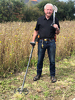 BNPS.co.uk (01202)558833<br /> Pic:   Hansons/BNPS<br /> <br /> Detectorist Tom Clark, 81.<br /> <br /> A 81-year-old metal detectorist has rediscovered a rare ancient gold ring worth £10,000 - 40 years after initially finding it.<br /> <br /> Tom Clark first unearthed the seal ring in the early 1980s but put it in a tin in his mum's garage when he was told it was modern and of little value.<br /> <br /> He had forgotten all about the find until he started clearing out the garage, where he found it tucked away. <br /> <br /> Tom took it to an auctioneers who identified it as a medieval seal ring that would have belonged an import person in the 14th century.<br /> <br /> He has now decided to sell it after being told it could be worth £10,000.