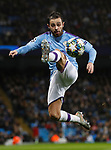 Bernardo Silva of Manchester City brings the ball down during the UEFA Champions League match against Shakhtar Donetsk at the Etihad Stadium, Manchester. Picture date: 26th November 2019. Picture credit should read: Darren Staples/Sportimage