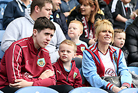 Burnley fans enjoy the pre-match atmosphere <br /> <br /> Photographer Rich Linley/CameraSport<br /> <br /> The Premier League - Burnley v Manchester City - Sunday 28th April 2019 - Turf Moor - Burnley<br /> <br /> World Copyright © 2019 CameraSport. All rights reserved. 43 Linden Ave. Countesthorpe. Leicester. England. LE8 5PG - Tel: +44 (0) 116 277 4147 - admin@camerasport.com - www.camerasport.com