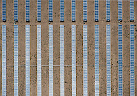 Solar Panel. San Luis Valley, Colorado.  2012