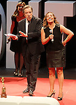 "The spanish journalists Inaki Gabilondo and Pepa Bueno during the Gala ""Contigo"" in celebration of the 90th anniversary of Radio Madrid Cadena SER. June 2, 2015. (ALTERPHOTOS/Acero)"