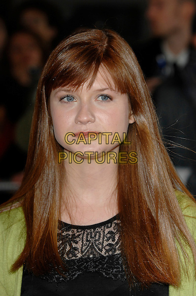 BONNIE WRIGHT.National Movie Awards, Royal Festival Hall.28th September 2007 London, England.portrait headshot.CAP/PL.©Phil Loftus/Capital Pictures